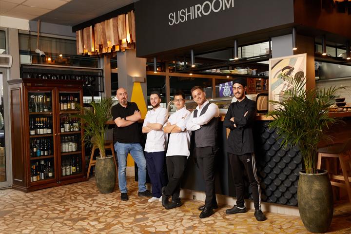 SushiRoom pariaza pe apetitul pentru contraste al oamenilor cu bani